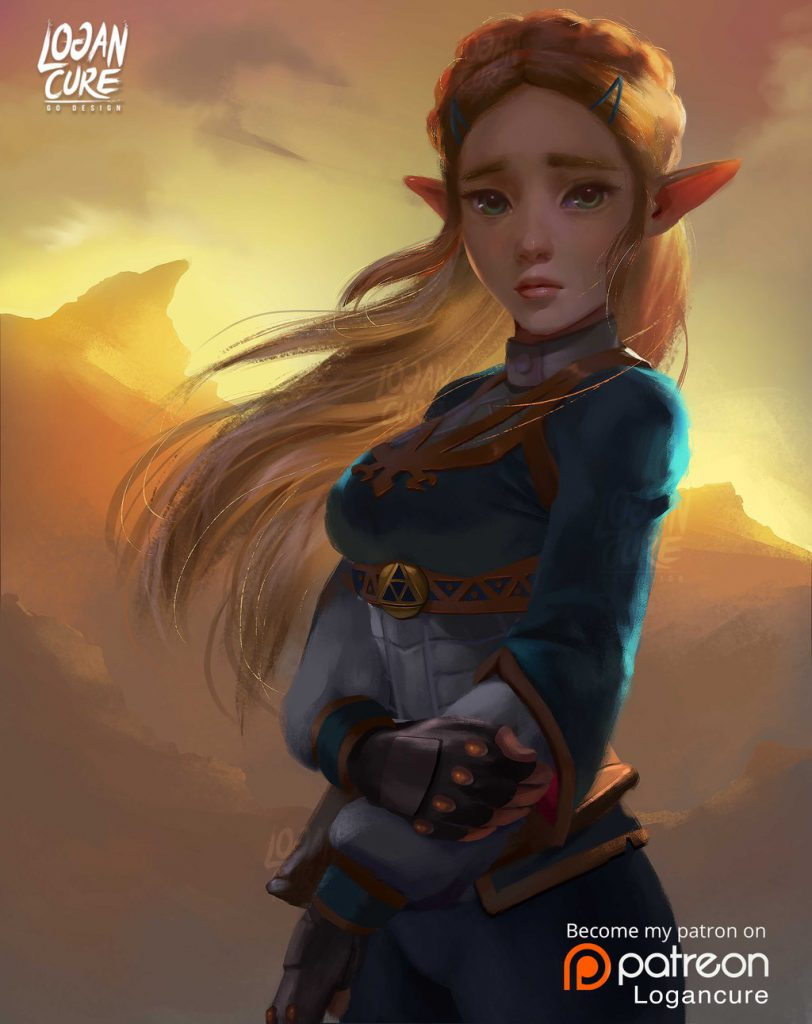 The Legend Of Zelda Fan Art 26 Epic Artworks